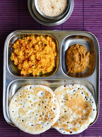 south Indian breakfast combo