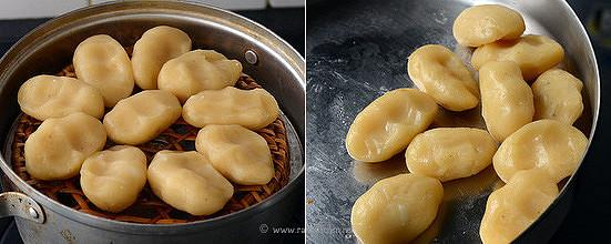 Steamed sweet pidi kozhukattai