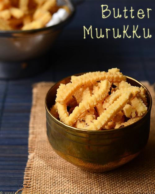 easy butter murukku