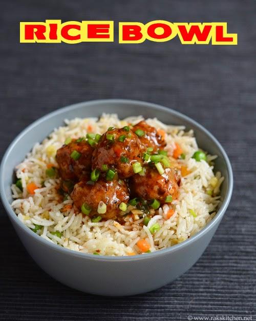 Veg Rice Bowl Lunch Menu 49 Raks Kitchen