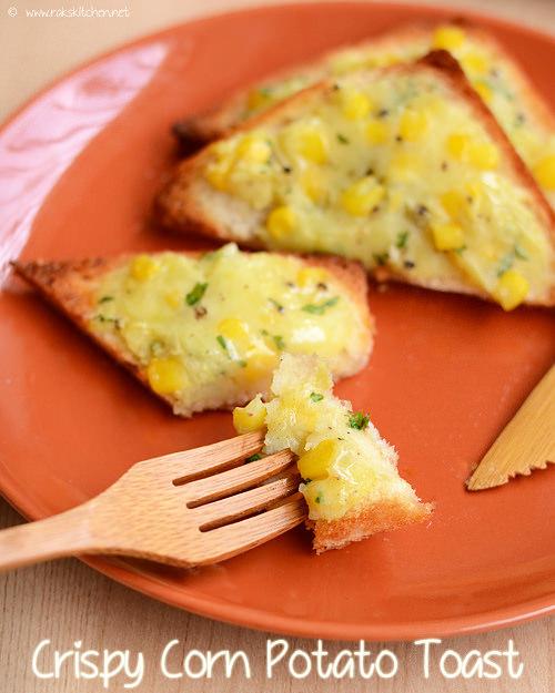 potato-corn-toast