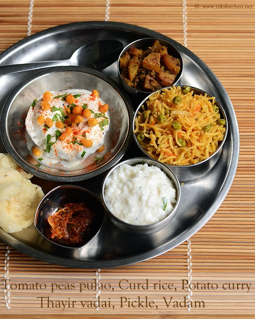 South Indian one pot meals