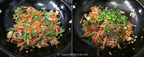 Step 3 mushroom fried rice recipe