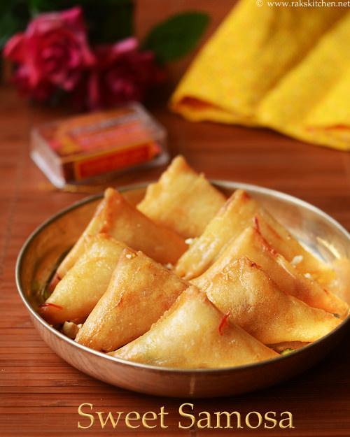sweet samosa recipe