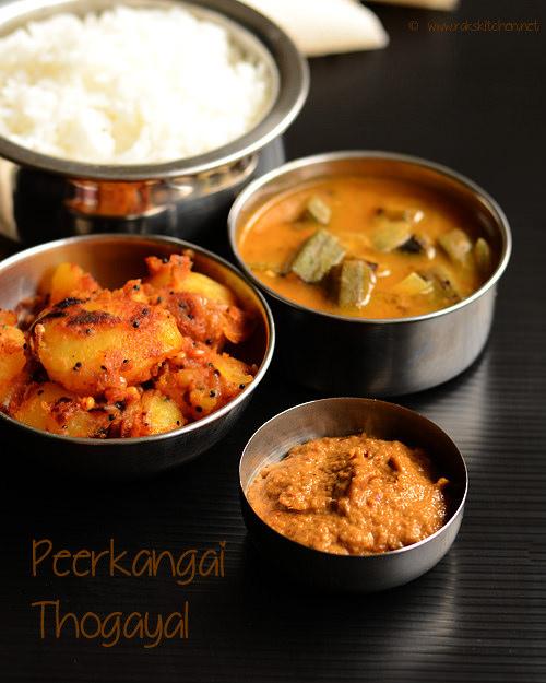 peerkangai-thogayal-recipe