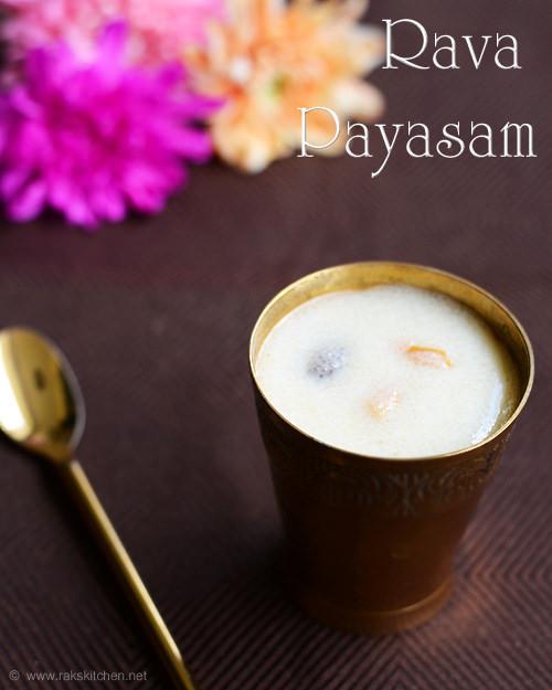 Rava-payasam