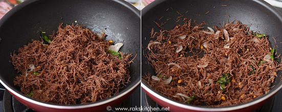 ragi semiya recipe step 4