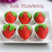 kaju strawberry | Diwali sweets