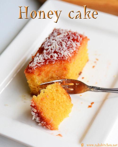 eggless-honey-cake
