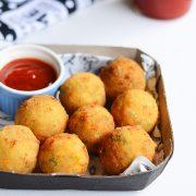 Corn-cheese-balls