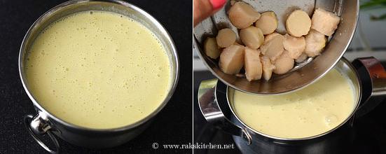 Mor kuzhambu recipe step 5
