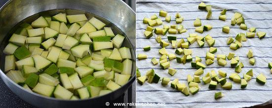 Cut mango pickle recipe step 2