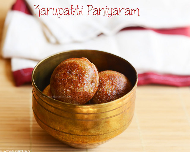 karupatti-paniyaram
