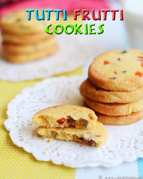 Tutti-frutti-cookies