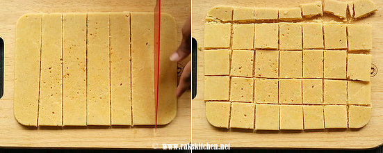 how to make 7 cups burfi step 7