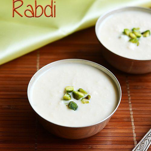 Rabri recipe, how to make rabri | Indian dessert