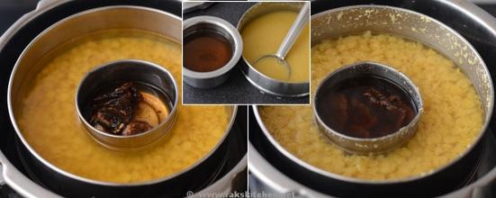 pressure cook toor dal
