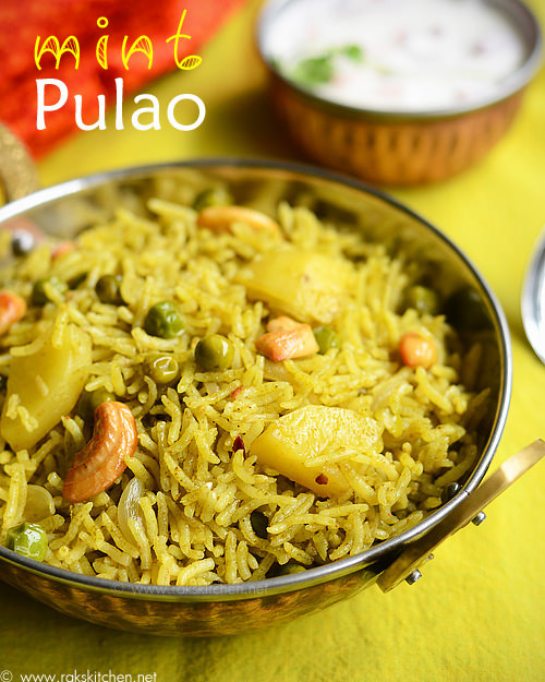 mint-pulao-recipe