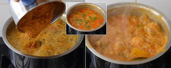 add to sambar