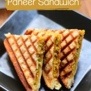 How to make paneer sandwich