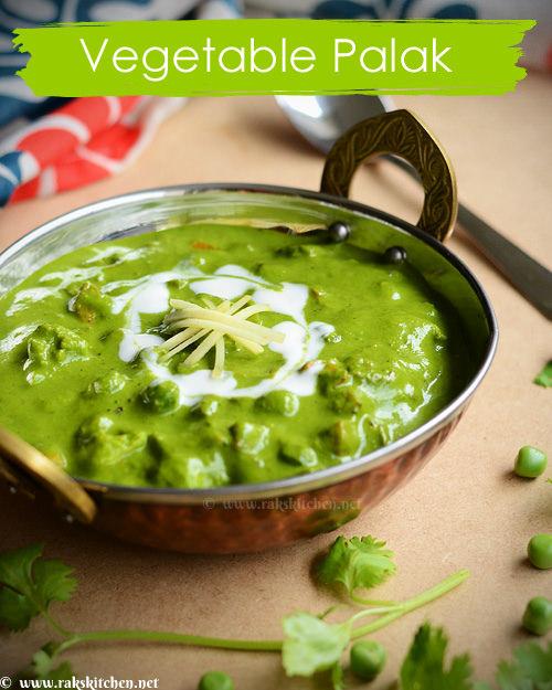 Mixed-vegetable-palak-gravy
