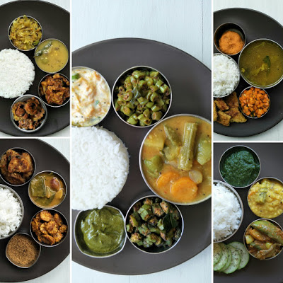 South Indian tamil lunch recipes