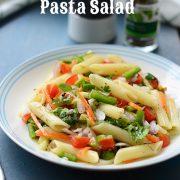 easy vegetable pasta salad