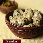 Kambu kozhukattai preparation