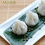Green moong modak