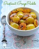 Grape pickle recipe