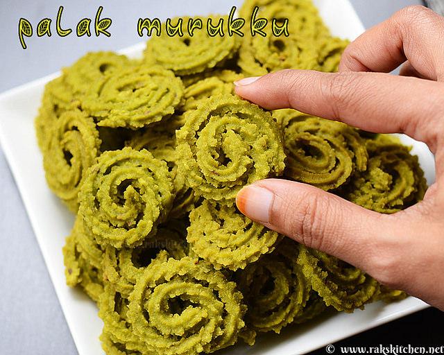 how-to-make-palak-murukku