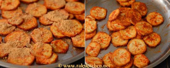 add idli podi/ rice flour or besan