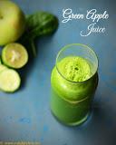 Green apple detox juice recipe