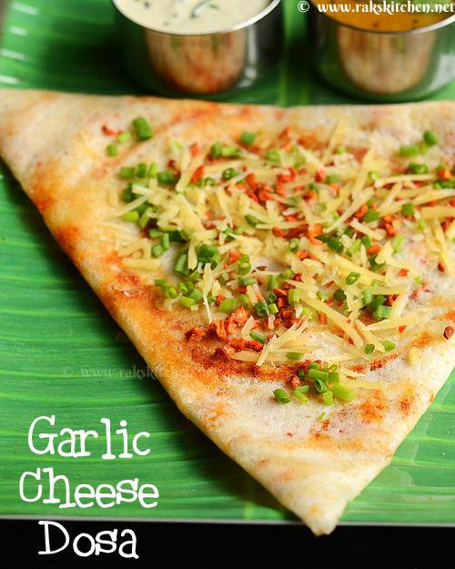 garlic-cheese-dosa-recipe