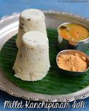 Millet kanchipuram idli recipe
