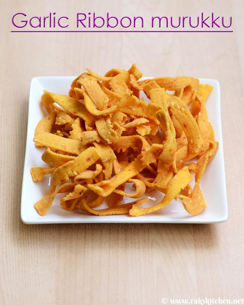 Garlic ribbon murukku recipe