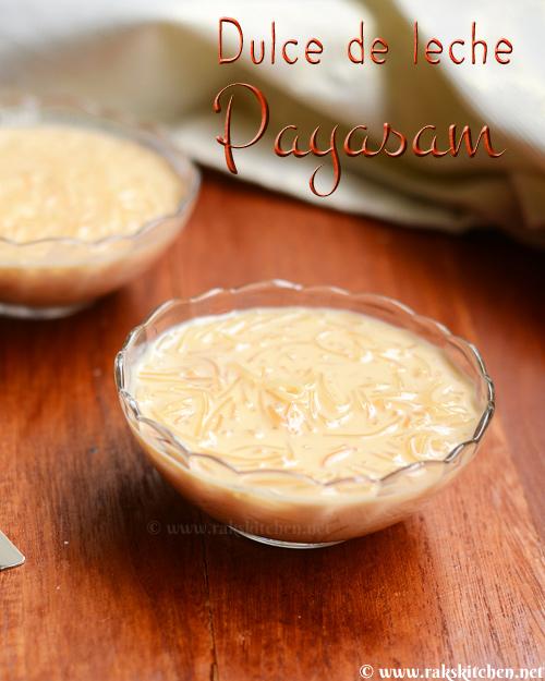dulce de leche payasam