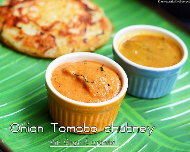 Onion-tomato-chutney