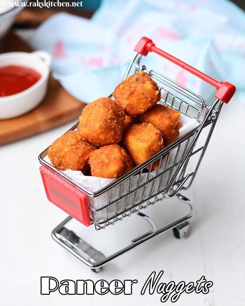 How to make paneer nuggets