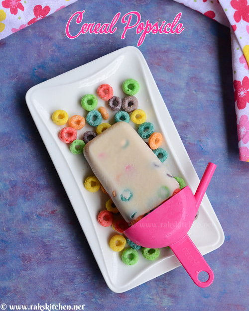 cereal popsicle