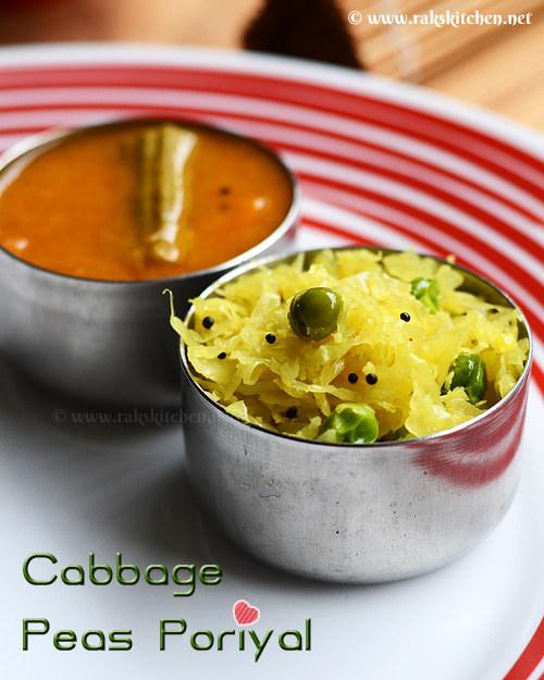 cabbage-poriyal-recipe