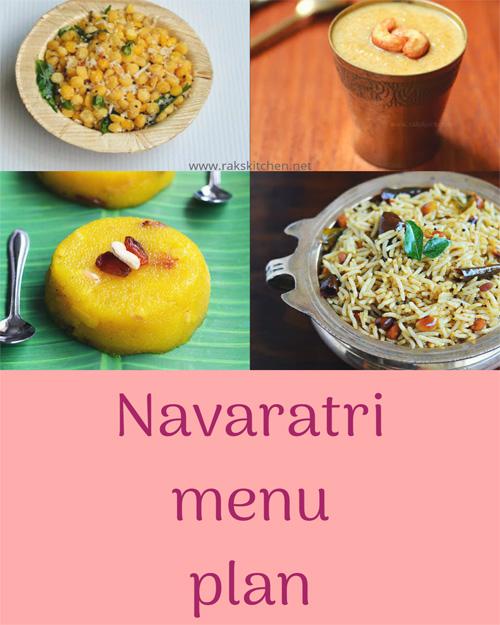 Navaratri-menu-plan