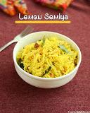 Lemon semiya recipe