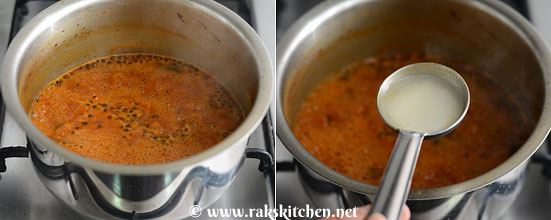 dissolve rice flour