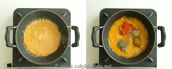 paneer tikka masala preparation 4