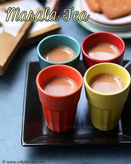 Masala tea recipe