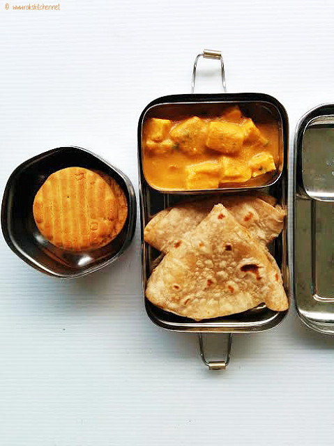 Indian lunch box idea 2 for kids