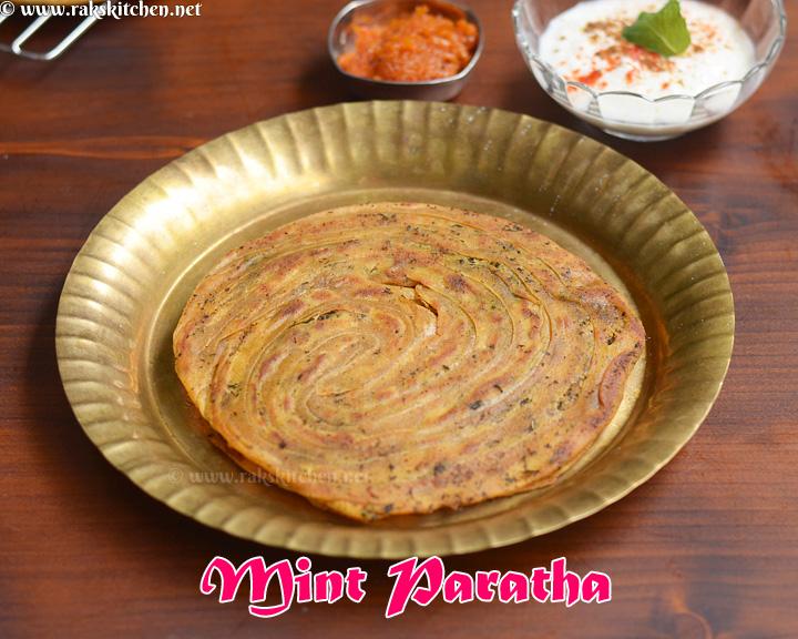 pudina-paratha-recipe