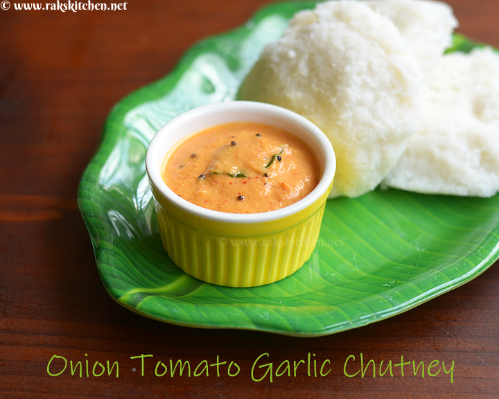 onion-tomato-garlic-chutney