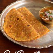 leftover-dal-paratha